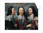 Charles I by Anthony van Dyck