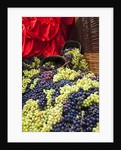 Fresh Grapes at Harvest Festival by Corbis