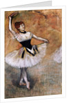 Dancer with a Tambourine by Edgar Degas