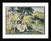 Bathing by Paul Cezanne