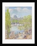 April, Quai Voltaire, Paris by Frederick Childe Hassam