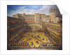 A Tournament in the Courtyard of the Vatican Belvedere by Corbis