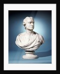 Bust of Sir Isaac Newton attributed to Joseph Wilton by Corbis