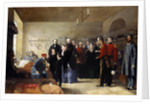 Queen Victoria's First Visit to Her Wounded Soldiers by Jerry Barrett