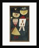 Costumed Couple by Paul Klee