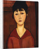 Head of a Young Girl by Amedeo Modigliani