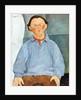 Portrait of Sculptor Oscar Miestchaninoff by Amedeo Modigliani