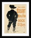 Aristide Bruant by Henri de Toulouse-Lautrec