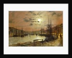 Whitby by John Atkinson Grimshaw