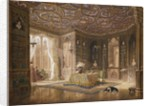 The Library of Stanmore Hall, the seat of Robert Holland, Esq by Frederick Mackenzie