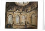 Interior Views of the Conservative Club: Entrance Hall and Grand Staircase by Corbis