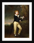 Portrait of Master Baines by George Romney