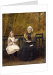 Reading for Grandmother by James Hayllar