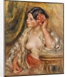 Gabrielle a sa Coiffure by Pierre-Auguste Renoir