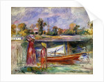 Young Girls in Argenteuil by Pierre-Auguste Renoir
