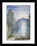 Melrose Abbey by Joseph Mallord William Turner