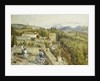 The Sierra Nevada from the Alhambra by Myles Birket Foster