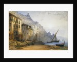 Amalfi from the Shore - A Summer's Morning by William Callow