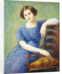 Woman with a Chair by Hippolyte Petitjean