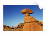 Eroded landscape in Goblin Valley by Corbis
