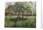 The Enclosure at Eragny by Camillle Pissarro