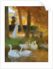 Lovers and Swans; The Autumn Walk by Gaston de Latouche
