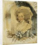 Portrait of Queen Charlotte by John Downman