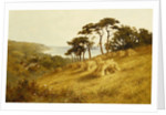 Harvest Time, Fairlight, Sussex by Henry H Parker