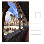 The Convent of the Order of Christ (Portuguese: Convento de Cristo) by Corbis