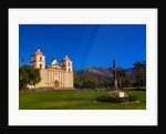 Mission Santa Barbara, Santa Barbara, California USA by Corbis