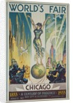 1933 Chicago Centennial World's Fair Poster by Corbis