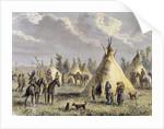 Sioux Camp near Fort Laramie by Corbis