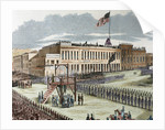 Public execution of murderers Joseph Hetherington and Philander Brace, 29 July 1856 by Corbis