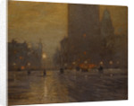 Madison Square, Rainy Night by Lovell Birge Harrison