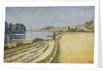Herblay - La Rive by Paul Signac