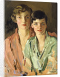 The Sisters, Joan and Marjory by Sir John Lavery