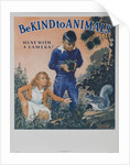1939 Be Kind to Animals, American Civics Poster, Hunt With a Camera by Corbis