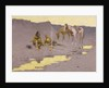 A New Year on the Cimarron by Frederic Remington
