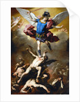 The Fall of the Rebel Angels by Luca Giordano