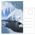 Ice Cave, Gerlache Strait, Antarctica by Corbis