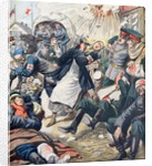 General Antoly Stessel Injured Fall of Port Arthur (Oct 1904) by Corbis