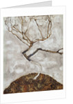 Small Tree in Late Autumn by Egon Schiele
