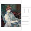 Madame Marthe X – Bordeaux by Henri de Toulouse-Lautrec