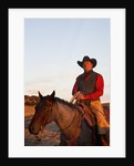 Cowboy in the sunshine by Corbis