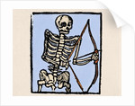 Death depicted with a bow and arrow by Corbis