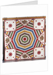 A cotton quilted coverlet by Corbis