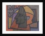Design with Benin Head by Mark Gertler