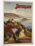 Switzerland Across the Jura poster by Frederic Hugo d'Alesi