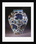 A glazed earthenware 'Persian' vase by William de Morgan