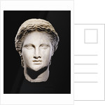 A Greek marble female head by Corbis